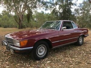 1972 Mercedes-Benz 350SL R107 Red 3 Speed Automatic Roadster Wodonga Wodonga Area Preview