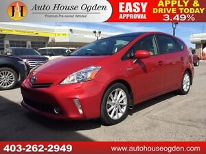 2012 Toyota Prius v leather navi b cam pano roof