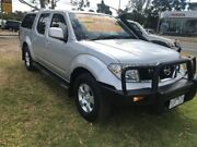 2010 Nissan Navara D40 ST Silver 5 Speed Automatic Utility Ferntree Gully Knox Area Preview