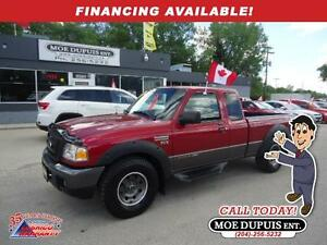 2007 Ford Ranger FX4/Lvl II,4X4!! HEATED LEATHER!!