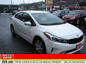 2017 Kia FORTE EX $16995.00 with $2K Down or Trade in* EX