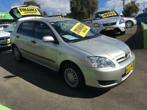 2007 Toyota Corolla ZRE152R Ascent Silver 4 Speed Automatic Hatchback Lidcombe Auburn Area Preview