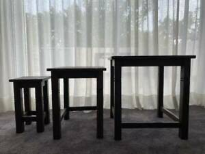 Nested Side Tables - set of 3