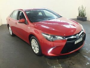 2015 Toyota Camry AVV50R MY15 Atara S Hybrid Wildfire Continuous Variable Sedan Clemton Park Canterbury Area Preview