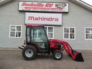 MAHINDRA 26XL HST CAB & LOADER & 7yr Warranty