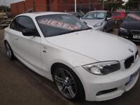 63 BMW 120D 177 BHP COUPE SPORT PLUS EDITION AUTO DIESEL *LEATHER WHITE SUNROOF*