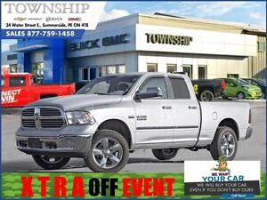 2015 Ram 1500 5.7L Hemi - $15/Day - Trailering Mirrors - 4WD