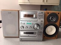 SONY CMT-CP100 Micro Hi-Fi Component System Tuner/Cassette/CD