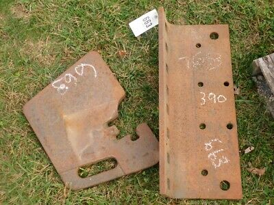 Allis Chalmers 7000 Series Tractor 60 Lb. Weights Bracket 18 Total Tag 663