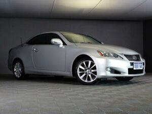 2012 Lexus IS GSE20R MY10 IS250 C Prestige Silver 6 Speed Sports Automatic Convertible Maddington Gosnells Area Preview