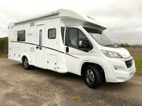 4- berth Dethleffs Trend T7017 motorhome for sale with single beds DEPOSIT TAKEN