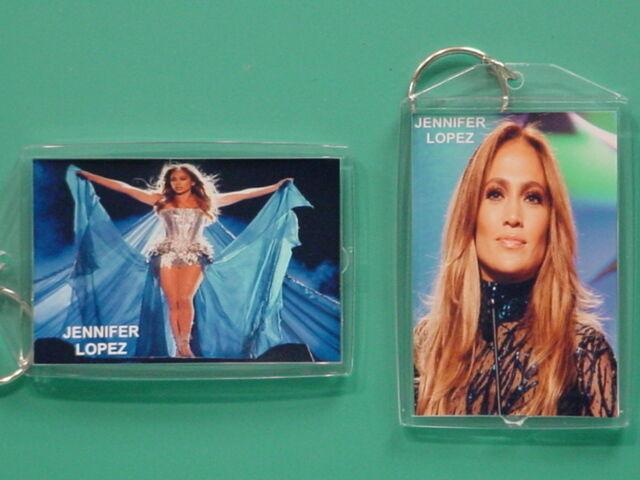 JENNIFER LOPEZ - with 2 Photos - Designer Collectible GIFT Keychain