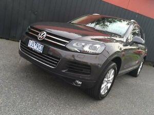 2012 Volkswagen Touareg 7P MY12.5 150TDI Grey 8 Speed Sports Automatic Wagon Moorabbin Kingston Area Preview
