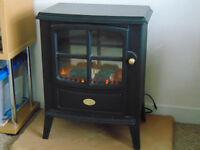 Dimplex cast iron log effect fire