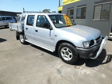 2000 Holden Rodeo TFR9 LT Silver 5 Speed Manual Crew Cab Pickup Werribee Wyndham Area Preview