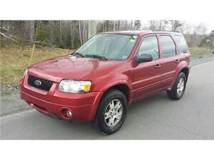 2005 Ford Escape Limited NEW MVI LEATHER LOADED!4X4 REMOTE START