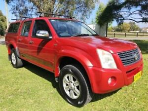 2007 Holden Rodeo RA MY08 LT Red 4 Speed Automatic Crew Cab Pickup Tuggerah Wyong Area Preview