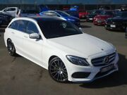 2016 Mercedes-Benz C250 S205 807MY Estate 7G-Tronic + White 7 Speed Sports Automatic Wagon Strathmore Heights Moonee Valley Preview
