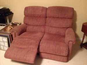 Lazyboy 2-seater recliner