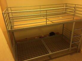 (SOLD) triple bunk beds