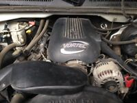 4.8 & 5.3 Litre Vortec Engine 2000-2005 GMC Chevrolet,,Low KM's