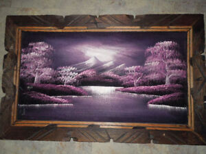 Hand Painted Picture from Mexico Kitchener / Waterloo Kitchener Area image 1