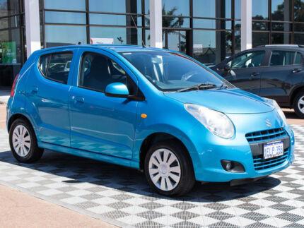 2013 Suzuki Alto GF GL Blue 5 Speed Manual Hatchback Alfred Cove Melville Area Preview