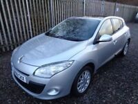 RENAULT MEGANE 1.5 DCI 2009 (NEW SHAPE) 5 DOOR SILVER 38,000 MILES MOT 18/12/18 EXCELLENT CONDITION