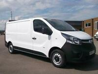 Vauxhall Vivaro 2900 1.6CDTI 115PS H1 LWB VAN DIESEL MANUAL WHITE (2015)