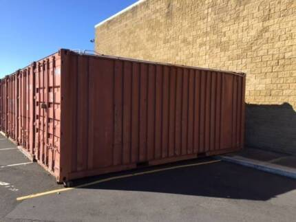 4 x 20ft x 8ft sea containers with in built alarms / code pad East Bunbury Bunbury Area Preview