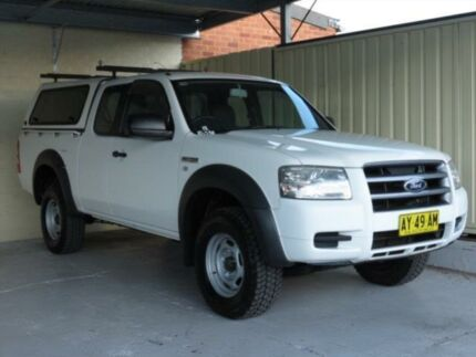 2008 Ford Ranger PJ 07 Upgrade XL (4x2) White 5 Speed Manual Super Cab Pick-up Condell Park Bankstown Area Preview
