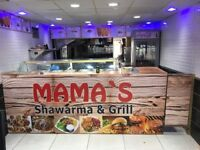Mamas Shawarma Business for sale