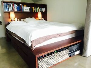 King Size Library bed Bellevue Hill Eastern Suburbs Preview