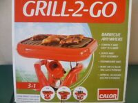 "Calor Gas ""Grill-2- Go"" BBQ."