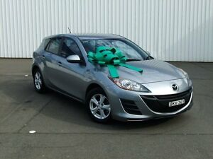 2009 Mazda 3 BL10F1 Maxx Activematic Grey 5 Speed Sports Automatic Hatchback Kings Park Blacktown Area Preview