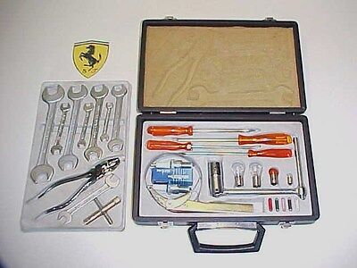 Ferrari Tool Kit_Briefcase_Oil Filter Wrench _Pliers_Screwdrivers 365 400 412