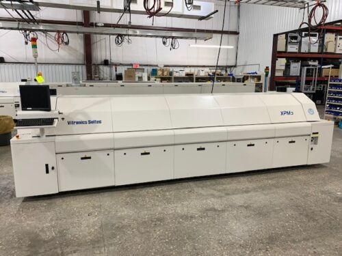 Vitronics XPM3-1030 Reflow Oven - Dual Lane Edge Rail Only - Left To Right Board