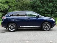 LEXUS RX 3.5 450H PREMIER 5d AUTO 295 BHP (blue) 2012