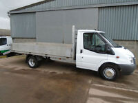 Ford Transit 350 TDCi 115 Ex LWB 16ft drop side beaver tail transporter 2010