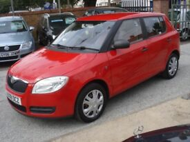 Skoda FABIA 1.2 HTP 6v 1 5dr, 2008 model, 88K, Long MOT, Low insurance & tax