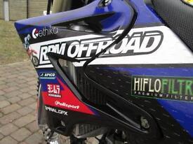 YAMAHA YZ125 2009 MX MOTO CROSS OFF ROAD BIKE