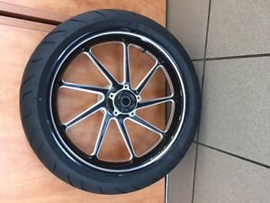 Complete set of wheels and tires new from 2015 Ducati Diavel