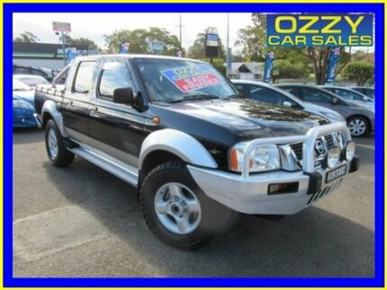 2004 Nissan Navara D22 ST-R (4x4) Black 5 Speed Manual Dual Cab Pick-up Penrith Penrith Area Preview