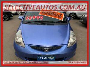2007 Honda Jazz MY06 VTi Blue 7 Speed CVT Auto Sequential Hatchback Homebush Strathfield Area Preview