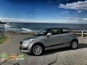 2012 Suzuki Swift FZ RE.2 Premium Silver 4 Speed Automatic Hatchback Islington Newcastle Area Preview