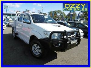 2010 Toyota Hilux KUN26R 09 Upgrade SR5 (4x4) White 5 Speed Manual Dual Cab Pick-up Penrith Penrith Area Preview