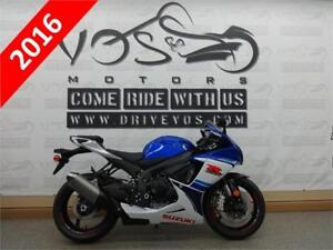 2016 Suzuki GSX R600L6 - V2124 -No Payments For 1 Year**