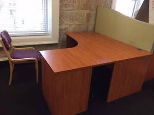 Oak colour desk - Qty x 14 Pyrmont Inner Sydney Preview