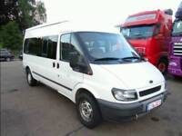 Left hand drive mini bus Ford 14 seat