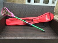 Girl's ATX AL6000 lacrosse stick with carrying case